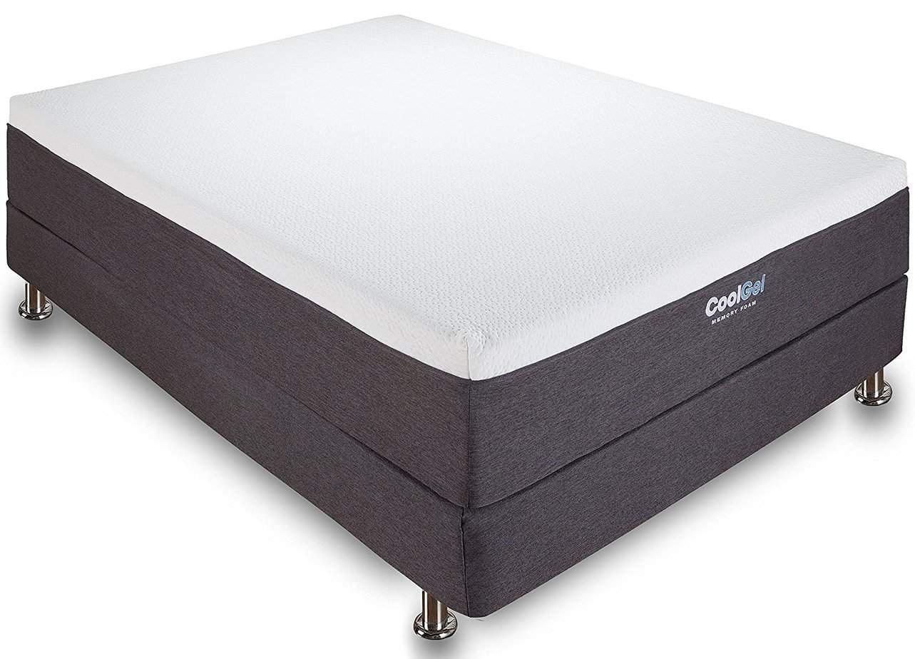 the Classic Brands 12-Inch Mattress on a bed