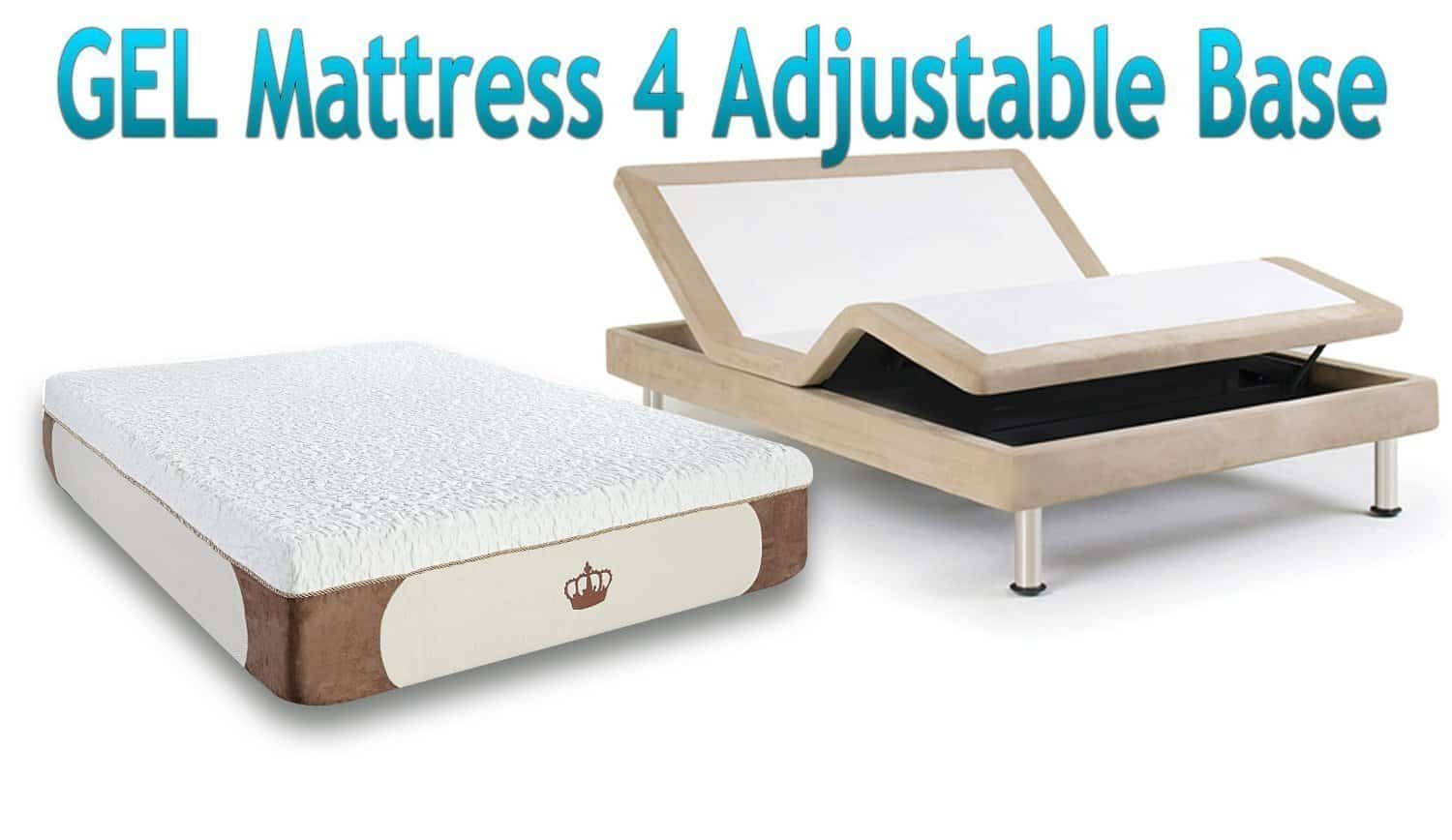 the DynastyMattress Cool Breeze shown on an adjustable base