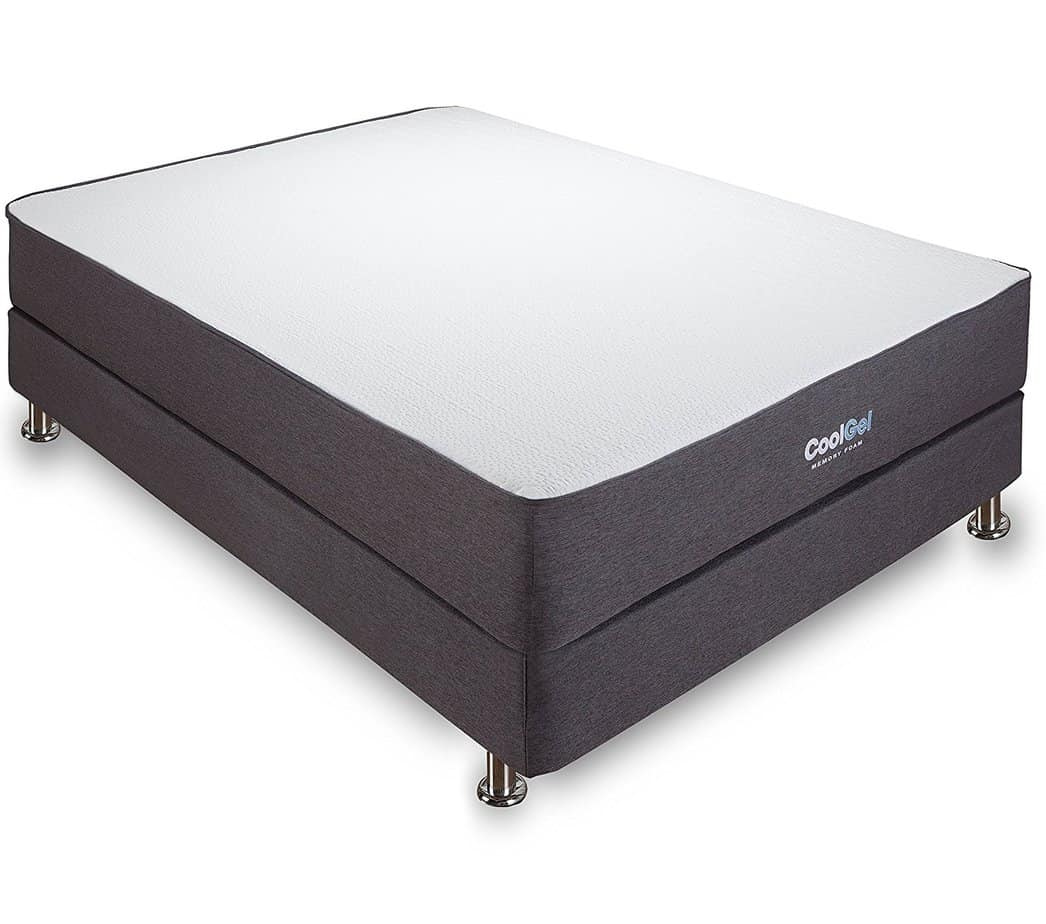 the Classic Brands Cool Gel Ventilated Gel Memory Foam 10.5-Inch Mattress fits all kinds of beds