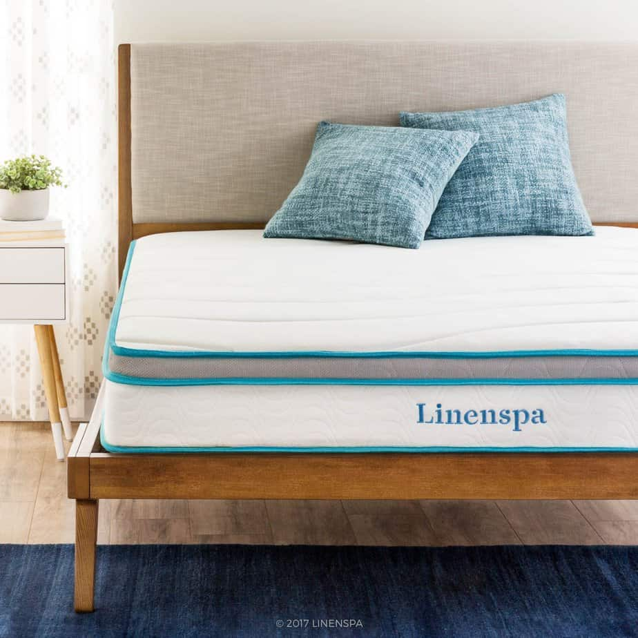 picture of the LinenSpa with 2 pillows