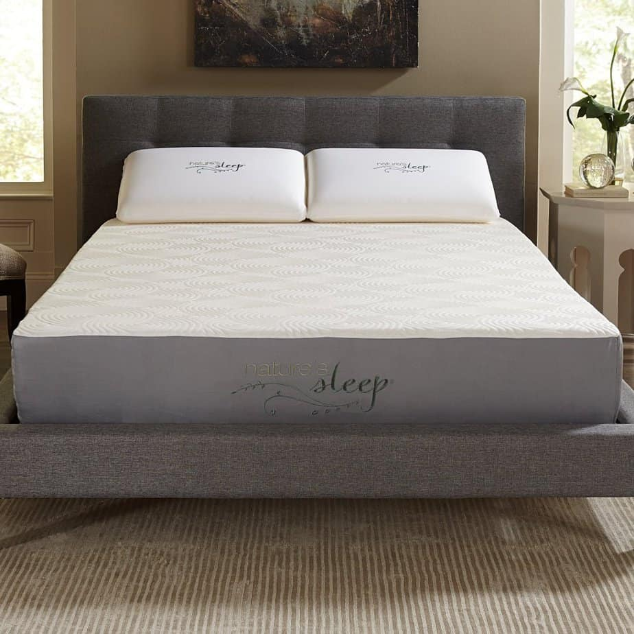 the Nature's Sleep 10-inch appears on the best gel mattress reviews