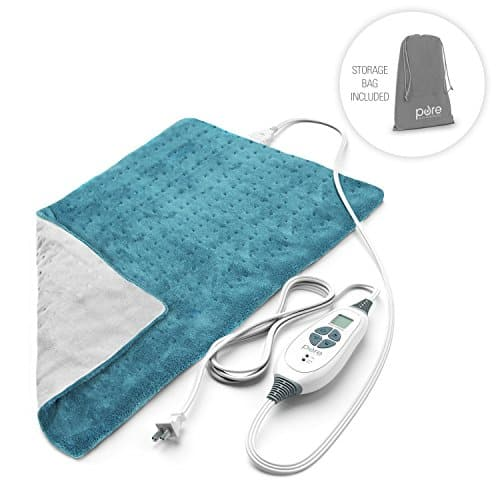 the PureRelief XL is the best heating pad for back pain