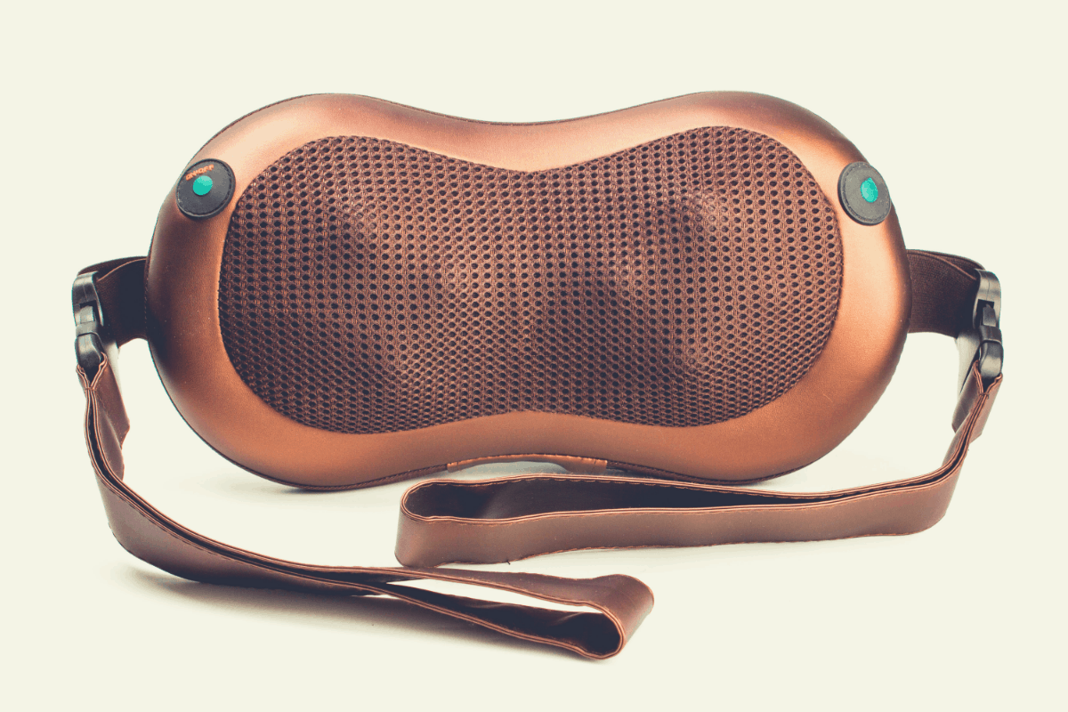 electronic massager in full view