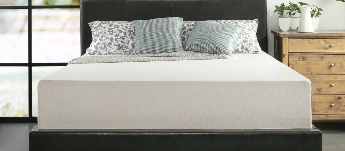 the Zinus Memory Foam is the best mattress for scoliosis